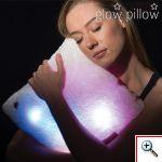 Φωτιζόμενο Μαξιλαράκι με πολύχρωμο φωτισμό LED - Glow Pillow