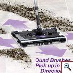 Πρωτοποριακή Επαναφορτιζόμενη Σκούπα Super Swivel Sweeper MAX